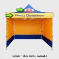 namioty reklamowe - nadruki
