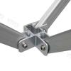 namiot ekspresowy - stelaż aluminium lux