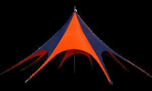 Namiot typu gwiazda