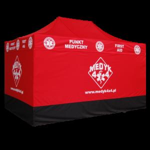 namioty dla służb medycznych