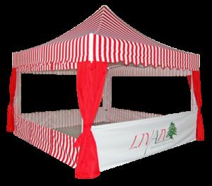 namiot expresowy akcesoria